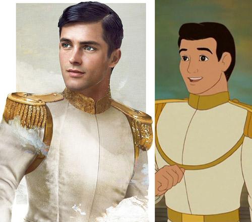Bất ngờ với những hoàng tử, công chúa Disney người thật - 2