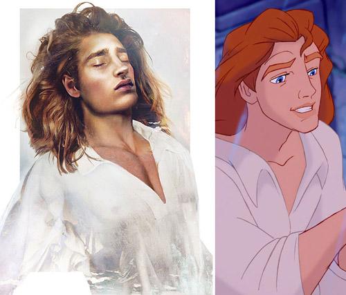 Bất ngờ với những hoàng tử, công chúa Disney người thật - 4