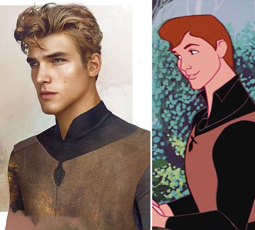 Bất ngờ với những hoàng tử, công chúa Disney người thật - 6