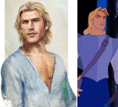 Bất ngờ với những hoàng tử, công chúa Disney người thật - 7