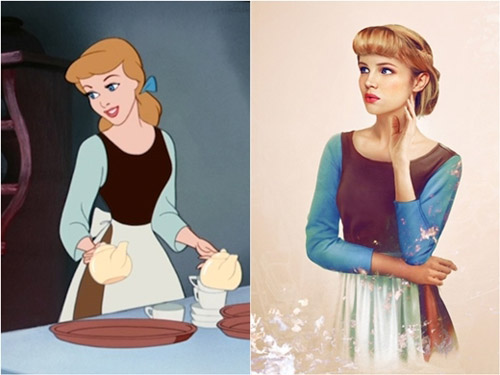 Bất ngờ với những hoàng tử, công chúa Disney người thật - 9
