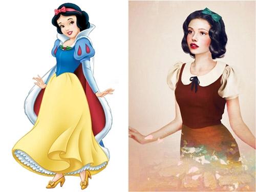 Bất ngờ với những hoàng tử, công chúa Disney người thật - 10
