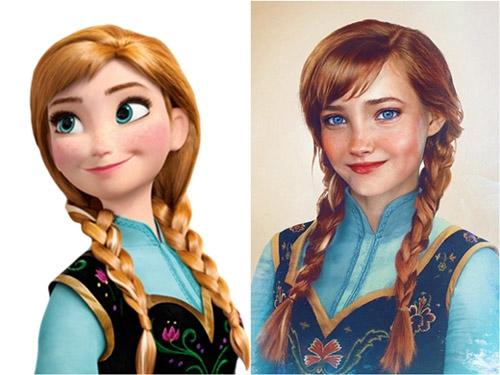 Bất ngờ với những hoàng tử, công chúa Disney người thật - 11