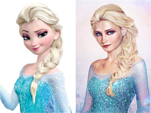 Bất ngờ với những hoàng tử, công chúa Disney người thật - 12