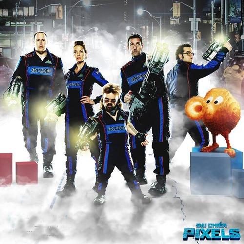 """""""Đại chiến Pixels"""" hé lộ biệt đội game thủ cứu thế giới - 1"""