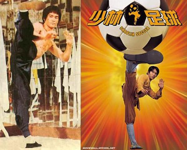 Những cảnh phim Châu Tinh Trì bắt chước Lý Tiểu Long - 4