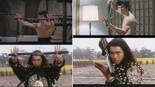 Những cảnh phim Châu Tinh Trì bắt chước Lý Tiểu Long - 5
