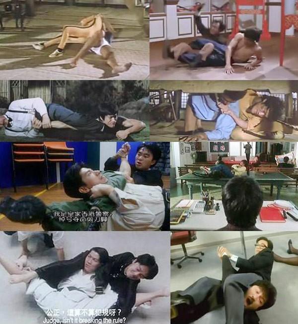 Những cảnh phim Châu Tinh Trì bắt chước Lý Tiểu Long - 6
