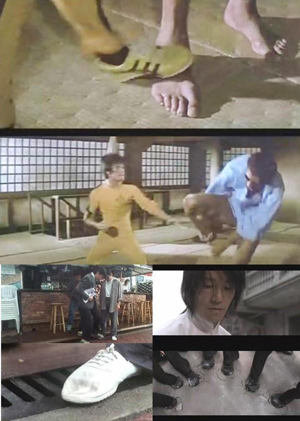 Những cảnh phim Châu Tinh Trì bắt chước Lý Tiểu Long - 7