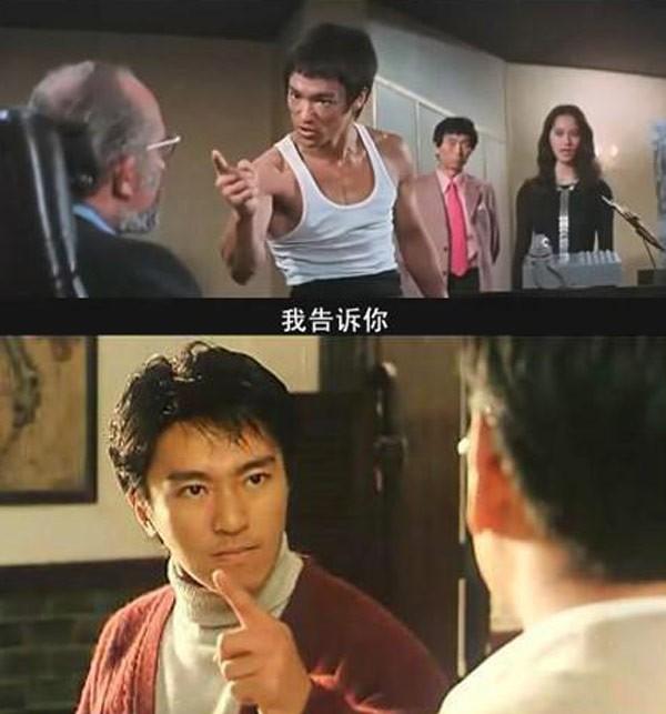 Những cảnh phim Châu Tinh Trì bắt chước Lý Tiểu Long - 8