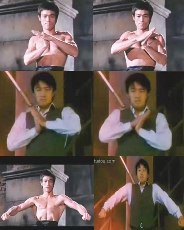 Những cảnh phim Châu Tinh Trì bắt chước Lý Tiểu Long - 9