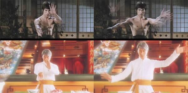 Những cảnh phim Châu Tinh Trì bắt chước Lý Tiểu Long - 2