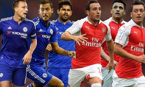 Đọ đội hình Arsenal – Chelsea: Màu xanh thắng thế - 1
