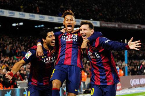 """""""Mũi đinh ba"""" Barca & mục tiêu mới: 140 bàn - 2"""