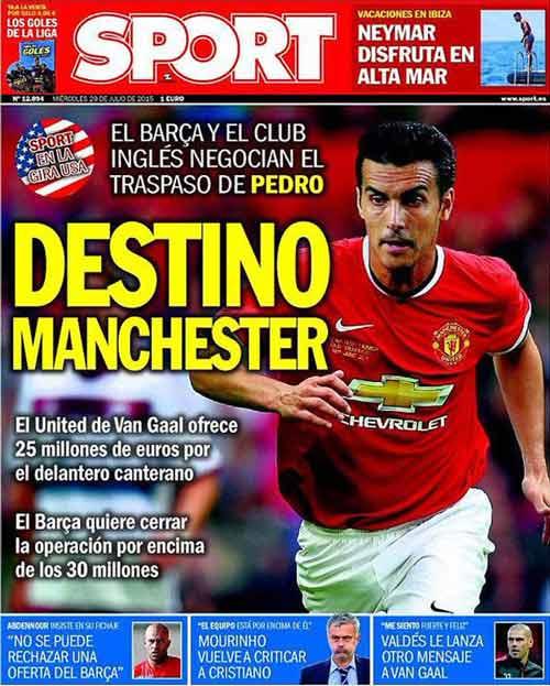 Pedro: Diễn viên phụ của Barca, ngôi sao mới của MU - 2