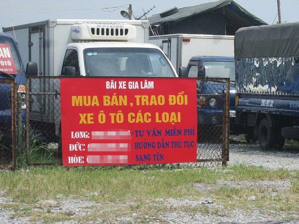 """Khám phá """"thiên đường"""" xe ô tô cũ tại Hà Nội - 7"""