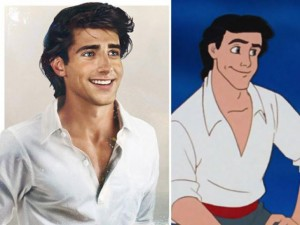 Bất ngờ với những hoàng tử, công chúa Disney người thật