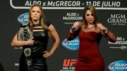 34 giây, Ronda Rousey khiến địch thủ đo sàn - 1