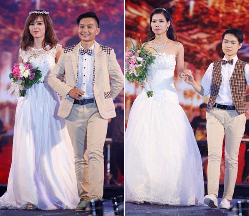 Nam giới tự tin giả gái diễn váy cưới tại Hà Nội - 13