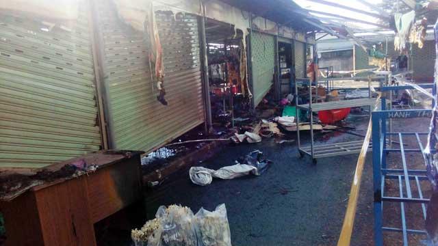 TP.HCM: Cháy chợ Nông sản Thủ Đức - 1