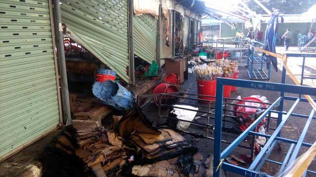 TP.HCM: Cháy chợ Nông sản Thủ Đức - 4