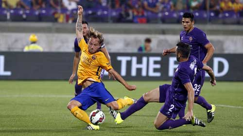 "Fiorentina – Barca: Nỗi nhớ ""Siêu sao"" - 1"