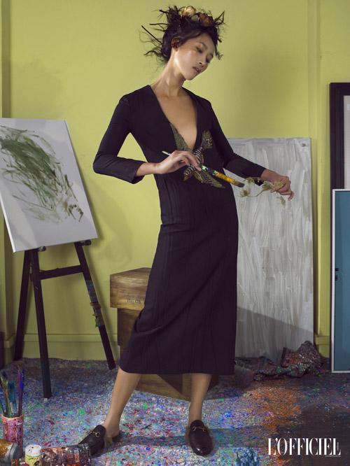 Trang Khiếu gợi cảm hóa thân thành nữ họa sĩ mộng mơ - 2