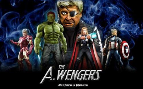 Mourinho ném huy chương, Wenger thành siêu anh hùng - 4