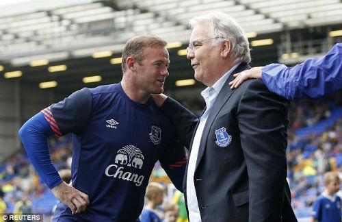 Dẹp bỏ hiềm khích, Rooney trở lại khoác áo Everton - 3