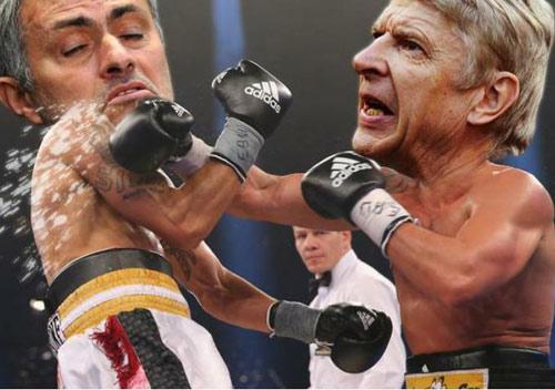 Mourinho ném huy chương, Wenger thành siêu anh hùng - 5