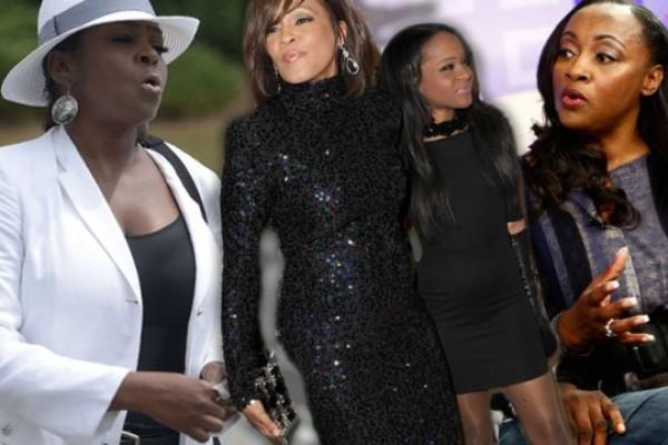 Tang lễ con gái Whitney Houston thành khẩu chiến gia đình - 4
