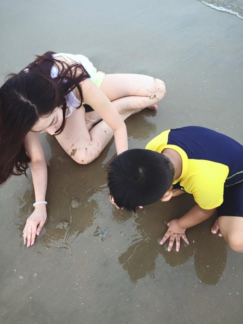 Hùng Thuận hạnh phúc bên vợ hotgirl và con trai - 3