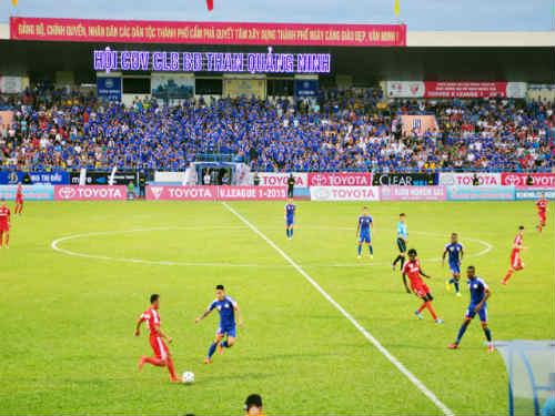 Trận T.Quảng Ninh - HAGL được lùi lại sang ngày 5/8 - 1