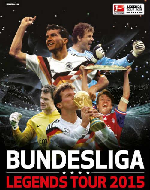 """Huyền thoại Đức chu du thế giới """"chào"""" Bundesliga - 1"""