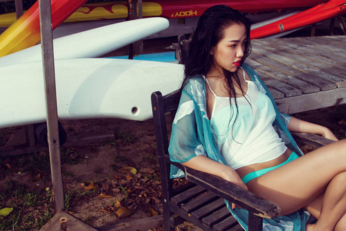 Hotgirl Joxy Thùy Linh gợi ý chọn bikini du lịch biển - 13