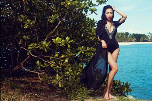 Hotgirl Joxy Thùy Linh gợi ý chọn bikini du lịch biển - 4