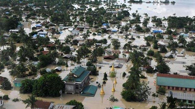 Ảnh: Người dân châu Á oằn mình trong mưa lớn, lũ quét - 5