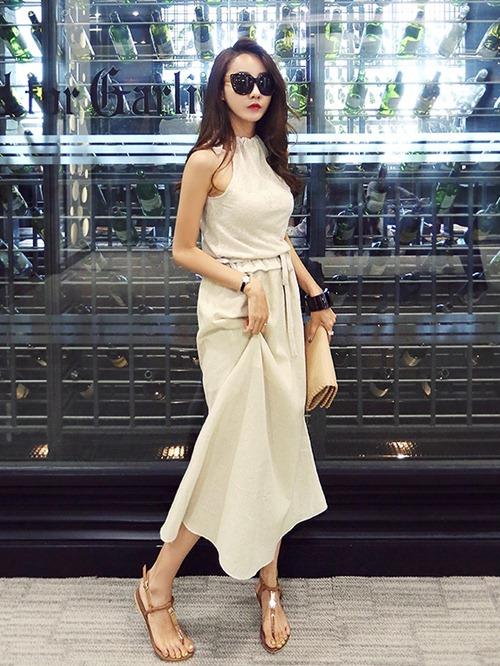 Ngày giao mùa dịu dàng tuyệt đối với váy dài - 8