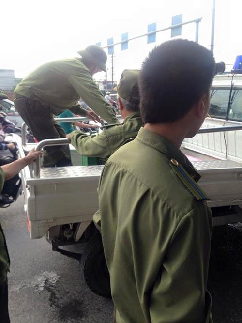 Chủ tịch quận Hoàng Mai lên tiếng vụ thu bình trà đá miễn phí - 2