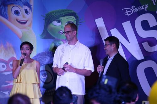 Miu Lê nhí nhảnh chụp ảnh cùng 2 đạo diễn Hollywood - 12