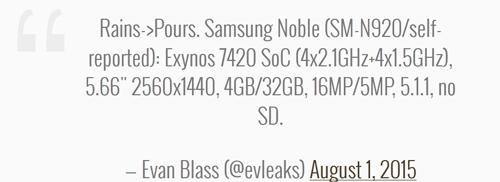 Samsung Galaxy Note 5 không hỗ trợ thẻ nhớ microSD - 2