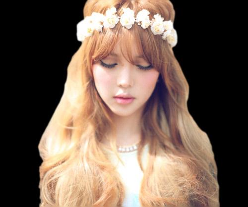 Hot girl Hàn Quốc nổi tiếng nhờ vẻ đẹp thiên thần - 4