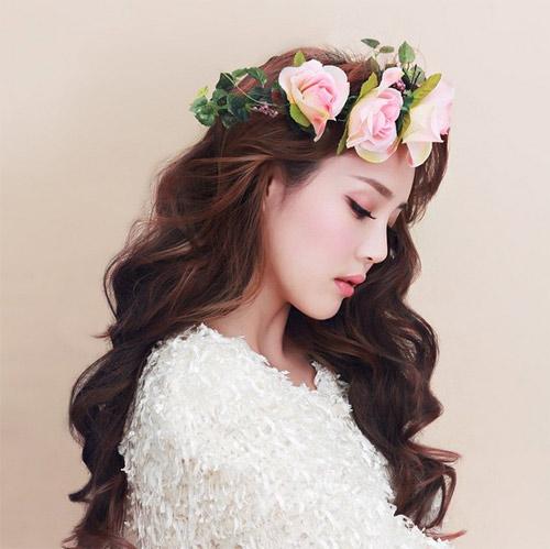 Hot girl Hàn Quốc nổi tiếng nhờ vẻ đẹp thiên thần - 5