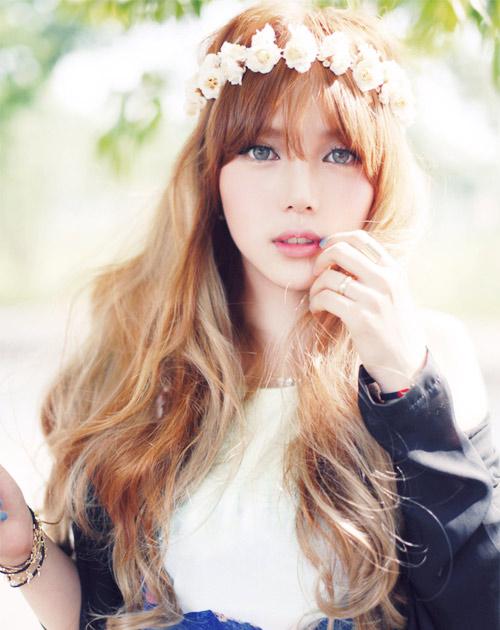 Hot girl Hàn Quốc nổi tiếng nhờ vẻ đẹp thiên thần - 8