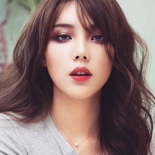 Hot girl Hàn Quốc nổi tiếng nhờ vẻ đẹp thiên thần - 9