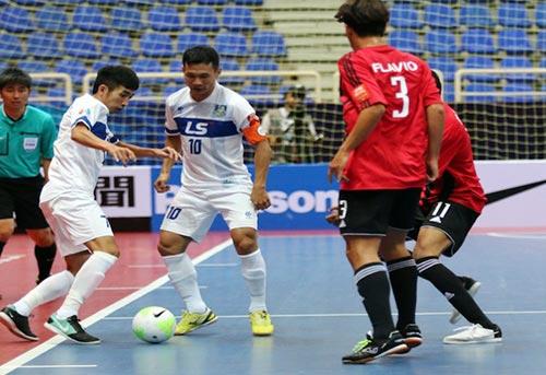 """CLB futsal của Việt Nam gây """"chấn động"""" giải châu Á - 1"""