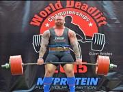 """Nâng tạ 450kg, """"Thần Thor"""" vô địch châu Âu"""