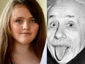 Cô bé 12 tuổi thông minh hơn cả nhà bác học Einstein
