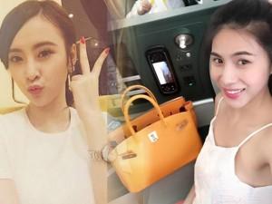 Ồn ào như sao Việt khoe hàng hiệu trên mạng xã hội
