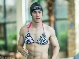 Tình cũ Phạm Băng Băng mặc bikini khoe cơ bắp